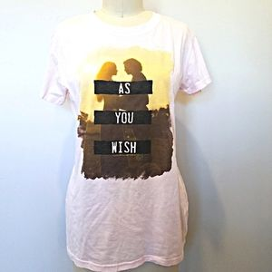 The Princess Bride As You Wish Fitted T-Shirt XXL